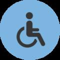 Bild von Rollstuhl